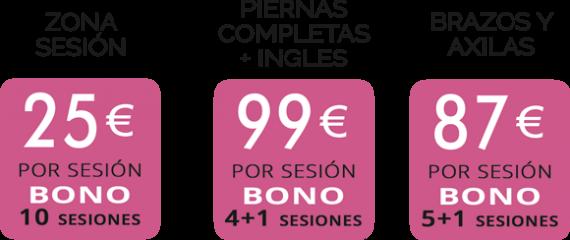 Bonos-Fotodepilacaion